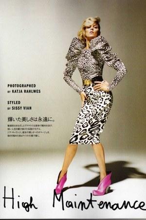 boots - black belt - animal print skirt - blouse