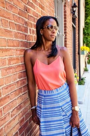 Tibi top - Gucci bag - Tibi skirt - Forever21 sandals