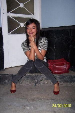 Zara shoes - Zara leggings - Zara purse - Zara blouse