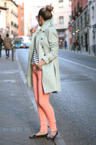 Pull & Bear pants - Queens Wardrobe coat - Pilar Burgos flats