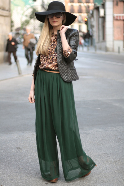 "Coosy Pants, Zara Jackets | ""Palazzo in Green"" by ..."