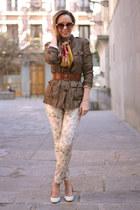 Stradivarius pants - Bimba&Lola shoes - Zara blazer