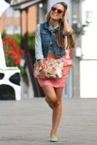 Parfois bag - H&M skirt - Bershka vest - Hermes bracelet