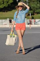 Pilar Burgos boots - H&M hat - Pepita Prez shirt - romwe bag