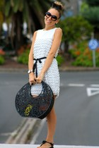 Zara Kids dress - Melissa bag