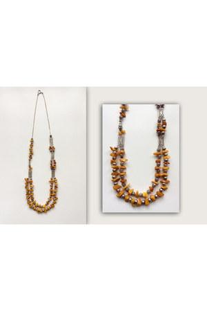 ámbar plata Sibarú necklace - necklace