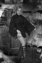 black Pennangalan boots - black H Naoto dress