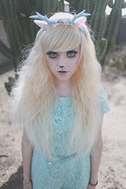 light blue antler Dolly Darling hair accessory