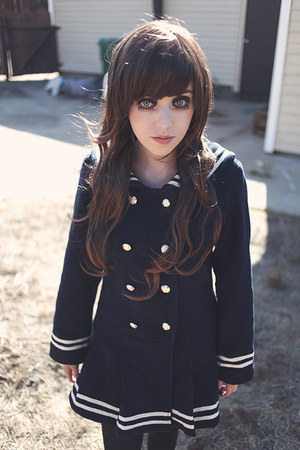 navy sailor Quantum Princess coat