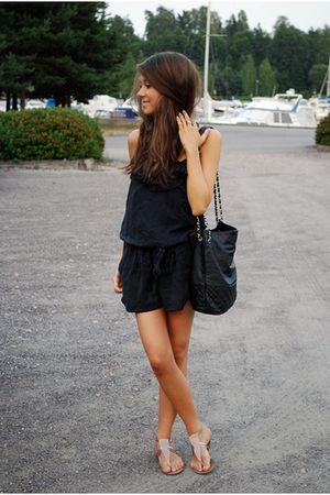 H&M bag - Forever 21 shoes - Thrift Store jumper