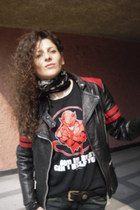 vintage jacket - Gorilla t-shirt