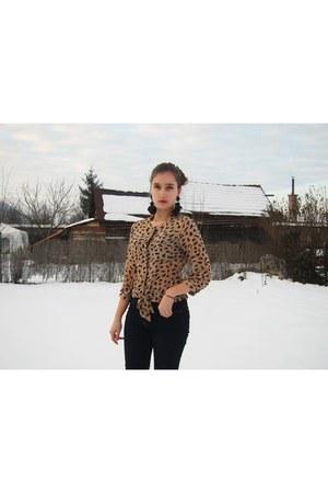 Sheinside blouse - asos jeans
