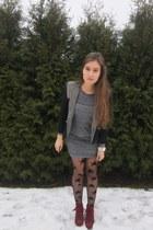 Topshop blazer - Mango dress