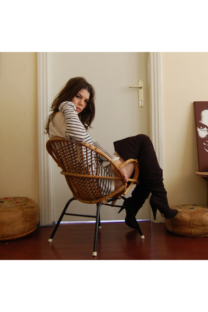 Zara sweater - new look boots