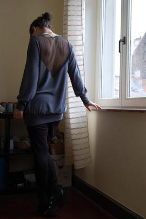 SilenceNoise sweater - H&M leggings - bronx shoes