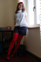 Claires accessories - Claires tights - c&a shorts - Only shirt - new look shoes