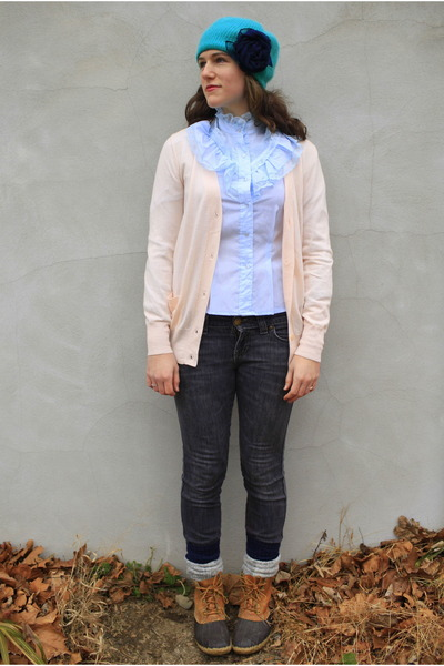 Navy Old Navy Jeans Light Blue Thrifted Vintage Blouses Tawny Ll
