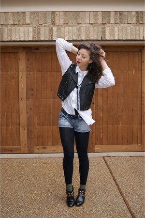 Forever21 shirt - Forever21 vest - UrbanOG shoes