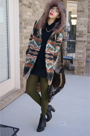 BB Dakota coat - UrbanOG shoes - f21 bag