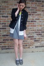 f21 shoes - charolette russe jacket