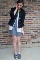 f21 shoes - charolette russe jacket