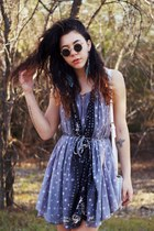 All Saints dress - Urban Outfitters sunglasses - UrbanOG sandals