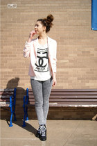 upscale local shop top - UrbanOG shoes - Target jeans
