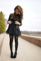 Forever 21 dress - Forever 21 jacket - UrbanOG wedges