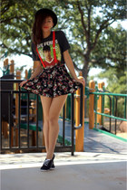 Forever 21 shorts - GoJane accessories - Urban Outfitters t-shirt