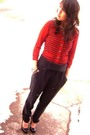Forever-21-cardigan-pants-shoes