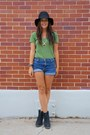 Nordstrom-hat-green-old-navy-shirt