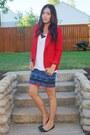 Red-forever-21-blazer