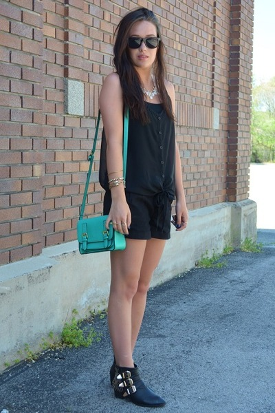 turquoise blue rue21 bag
