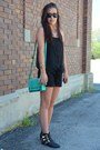 Turquoise-blue-rue21-bag