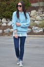 Light-blue-h-m-blouse