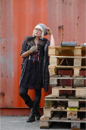Tommy Hilfiger bag - Din Sko boots - wet look Dorothy Perkins leggings