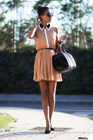 Primark shoes - Primark dress - Zara bag