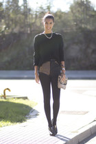 black AX Paris shorts