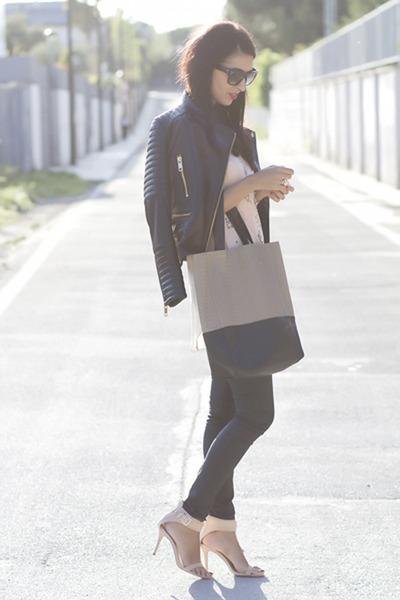 black Mango jacket - neutral Yes Walker bag