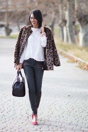 Mango coat - Zara shoes - Zara blouse