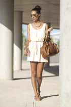 light pink Zara dress