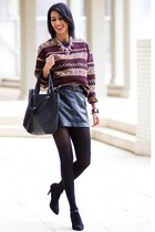 jacquard Zara sweater