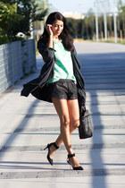aquamarine Zara blouse