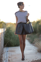 black Blanco suite skirt - black Blanco suite blouse
