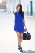 blue BLANCO dress