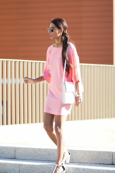 Zara shoes - Zara dress - Zara bag