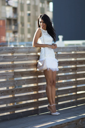 white Lipsy dress