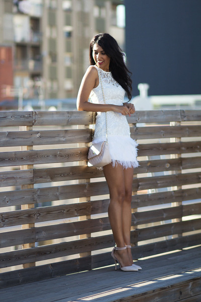 white Lipsy dress