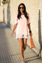 pink E Fox City dress
