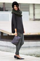 Zara shirt - Zara scarf - Zara bag - Zara pants